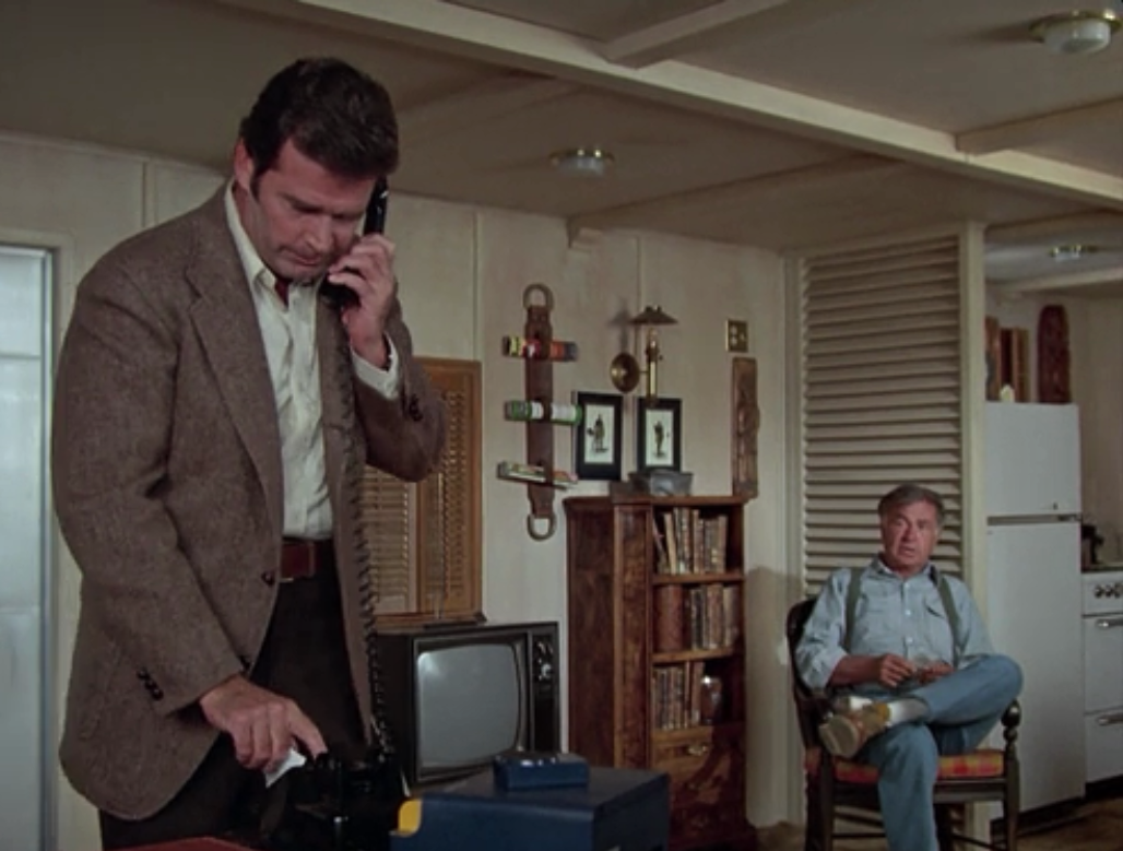 Angel Martin Drives Jim Rockford Nuts!  The Rockford Files  1979